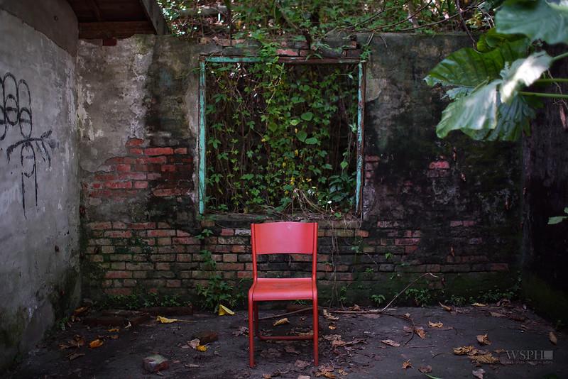 寶藏巖的椅子 a chair in Treasure Hill
