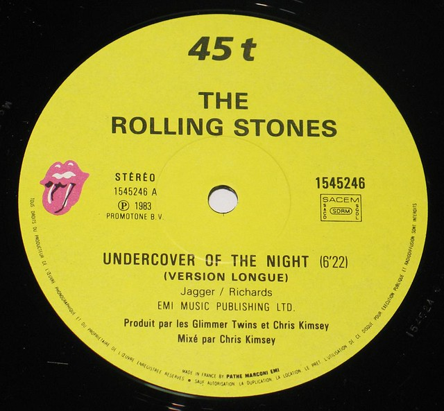 Rolling Stones Undercover of the Night Extended Cheeky Mix