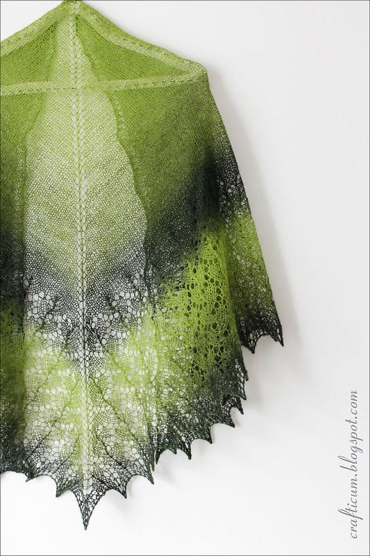 Green Ishbel Shawl