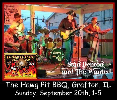 Stan Denton & The Wanted 9-20-15