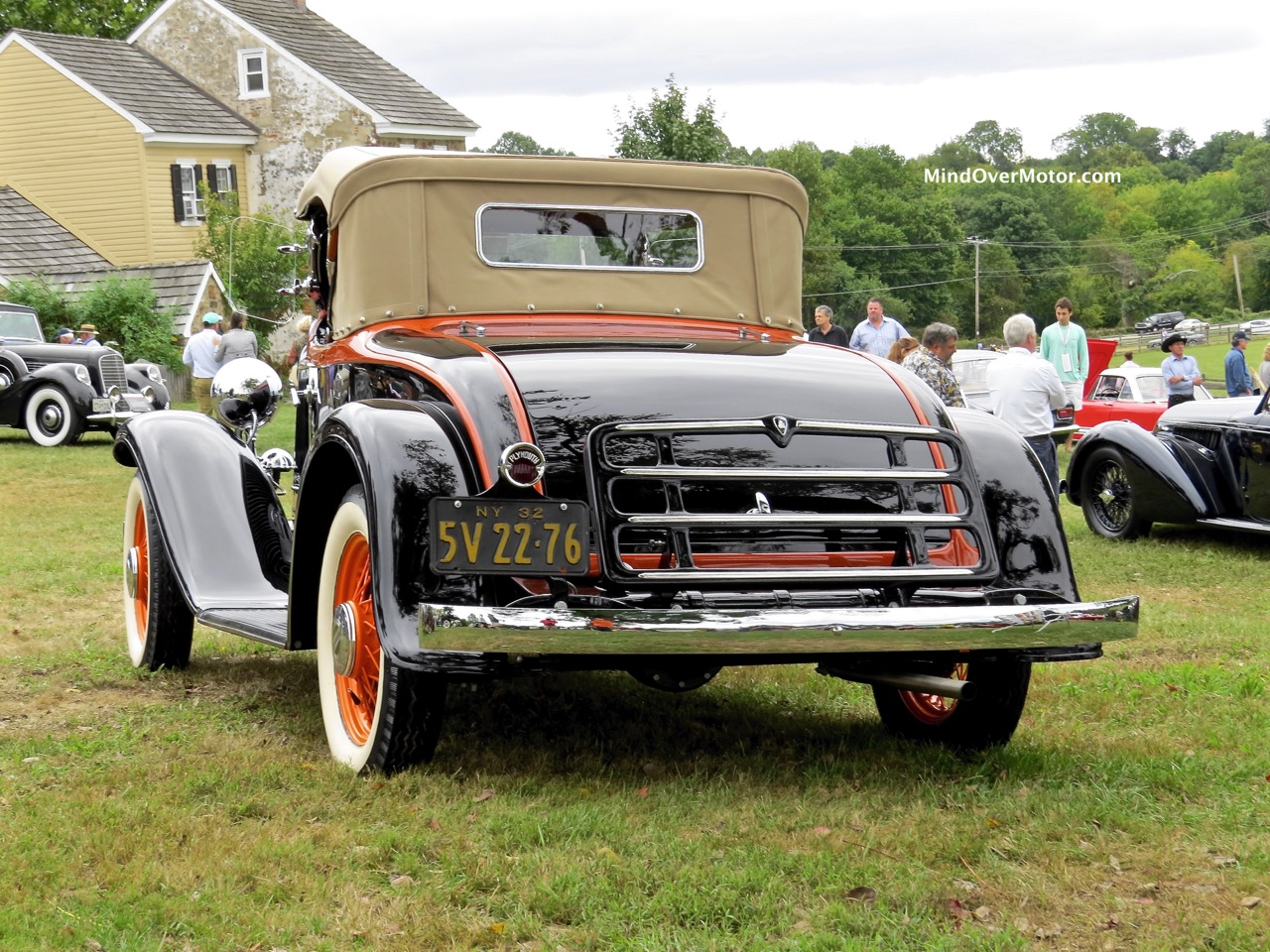 1932 Plymouth P8 Roadster Rear