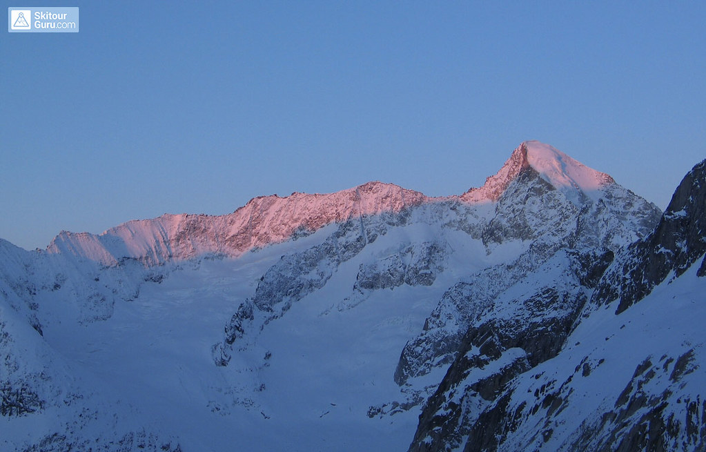 Grosser Aletschhorn Berner Alpen / Alpes bernoises Schweiz foto 02