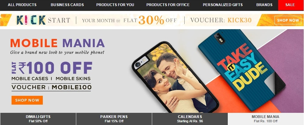 Printvenue mobile case skin 100 off