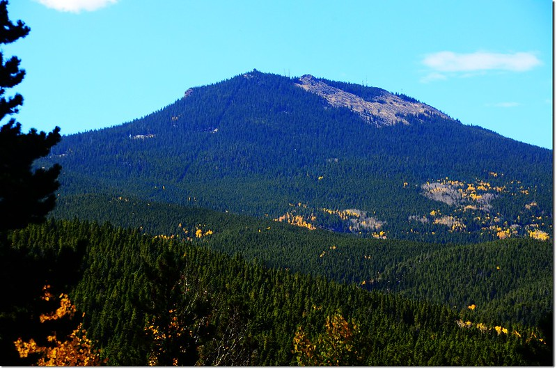 Squaw Mountain from Squaw Pass Road 3