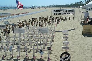 Santa Barbara - Santa Barbara beach protest