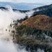 Morning clouds, mountains near Spielberg, Austria by Petr Újezdský