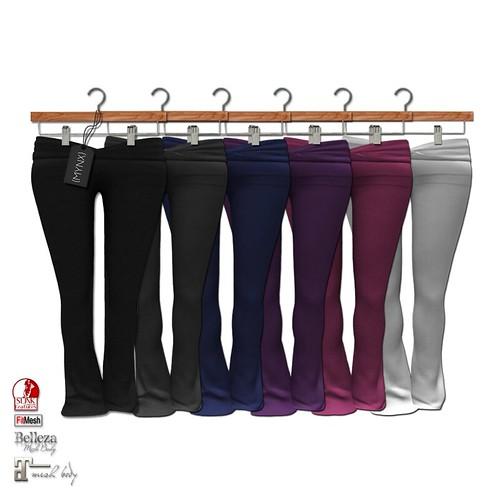 {MYNX} Yoga Pants - Fat Pack