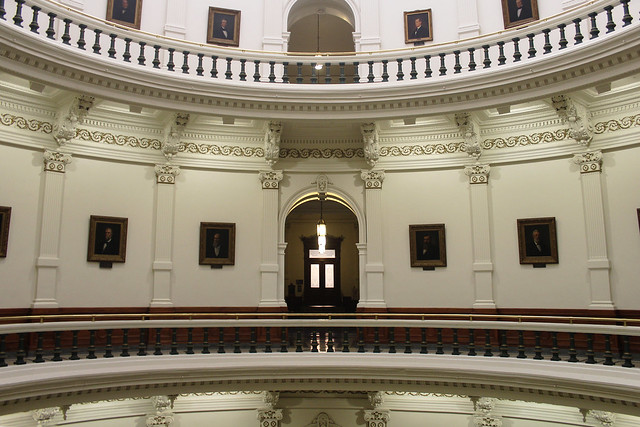 Inside the Capitol Building, Austin