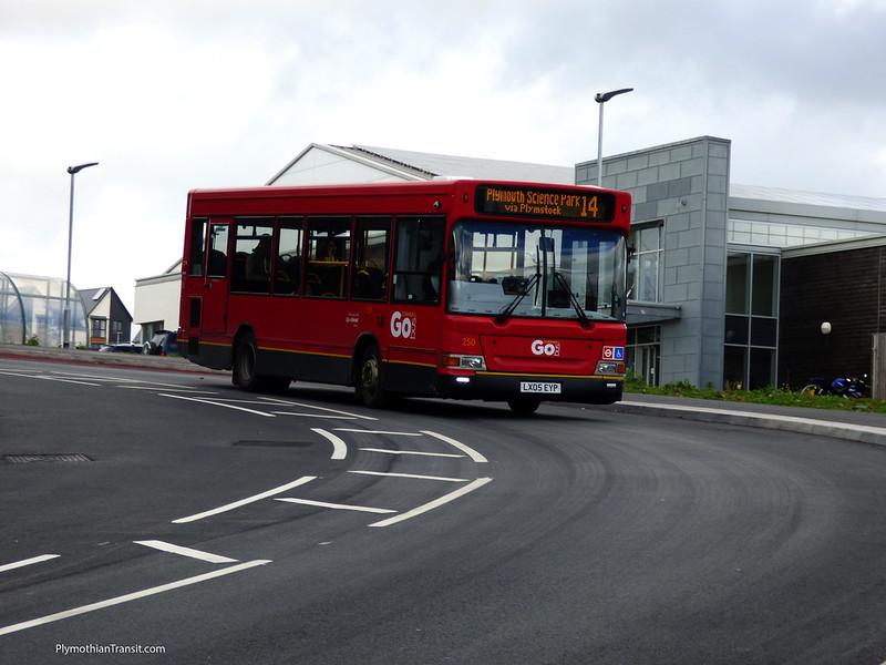 Plymouth Citybus 250 LX05EYP
