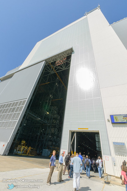 Thu, 11/01/2012 - 13:02 - The entrance to NASA's Vehicle Assembly Building (VAB) - November 01, 2012 1:02:41 PM - Titusville, Florida (28.5848,-80.6503)