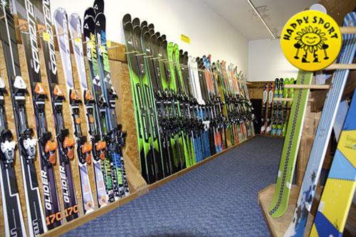 Poukázka na půjčovnu lyží, snb, běžek nebo lyžařského vybavení HAPPY SPORT Letňany v hodnotě 1000 se slevou 30 %