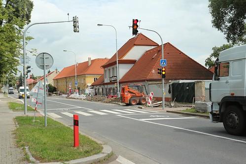 2013 - Stavba semaforů