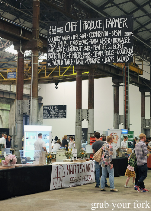 Chefs, Produce and Farmers Collaboration Pavilion at Rootstock Sydney 2015