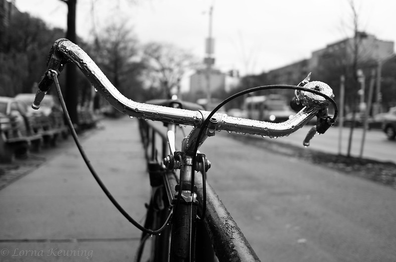 Rain/Bike Ocean Parkway