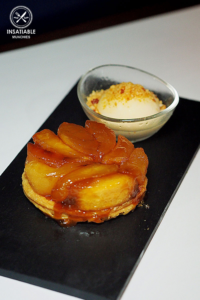 Classic Apple Tart Tartin, Cinnamon Ice Cream : Ananas, The Rocks. Sydney Food Blog Review