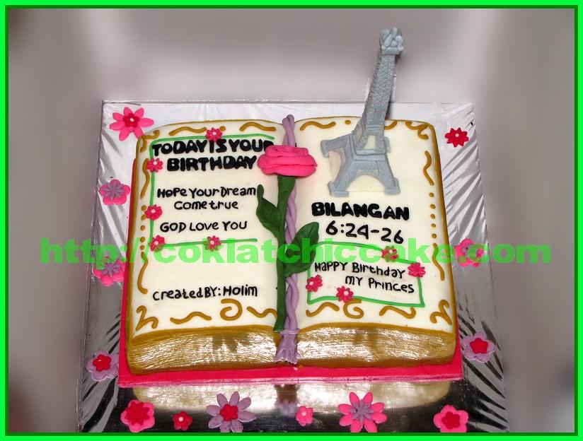 Cake Menara Eifel