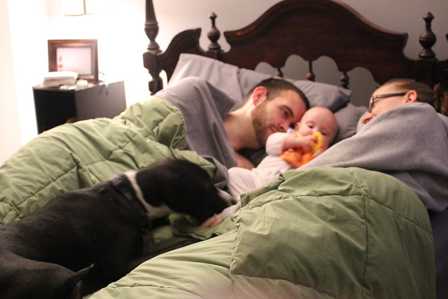 Saturday AM snuggles
