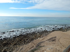 Ocean Trails from the golf course down to the beach, Rancho Palos Verdes