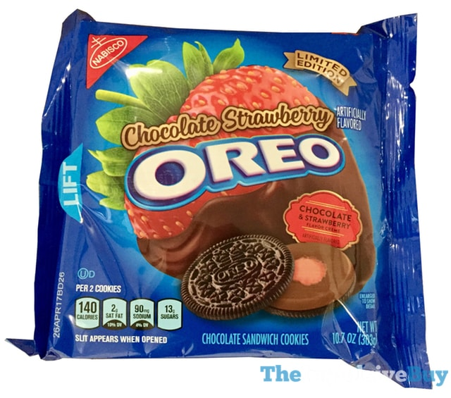 Review Limited Edition Chocolate Strawberry Oreo Cookies