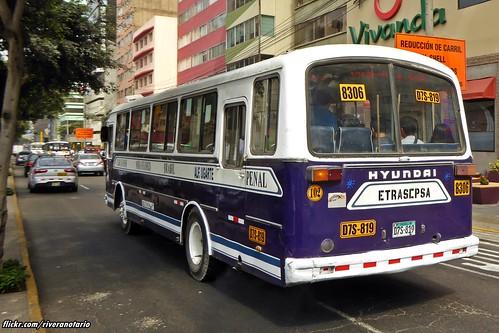 Hyundai Bus - Lima, Perú