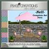 [PC] PIXEL CREATIONS - NELL COMPLETE SET OAK