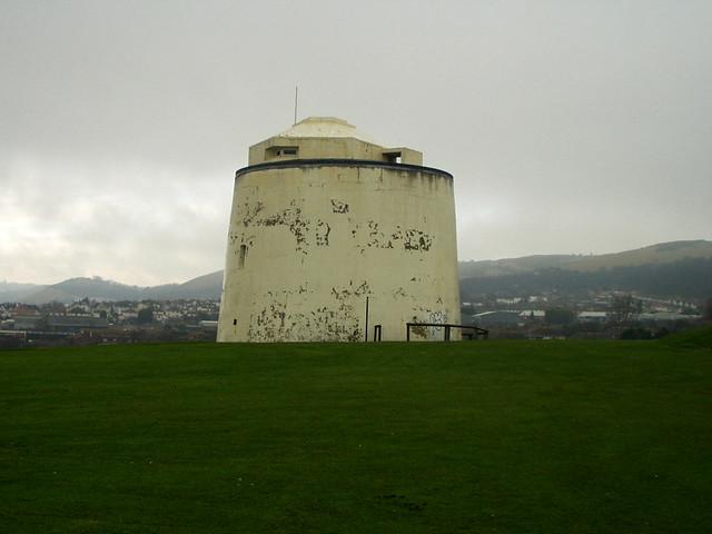 Martello Tower near Folkeston