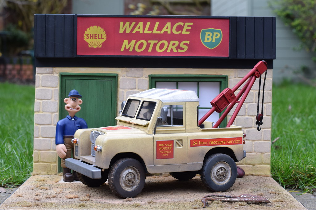 Land Rover Breakdown Truck Wallace Motors Ready For