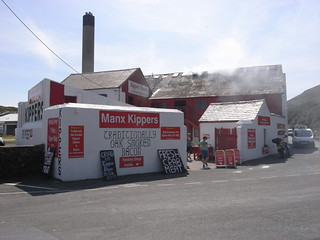 Kipper factory, Peel, Isle of Man
