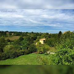 France - Monpazier  30.8.2015 #landscape #france #monpazier