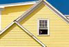 Yellow House, Peggy's Cove by josullivan.59