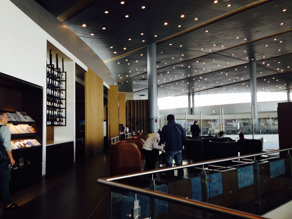 Lan Lounge at El Dorado Airport