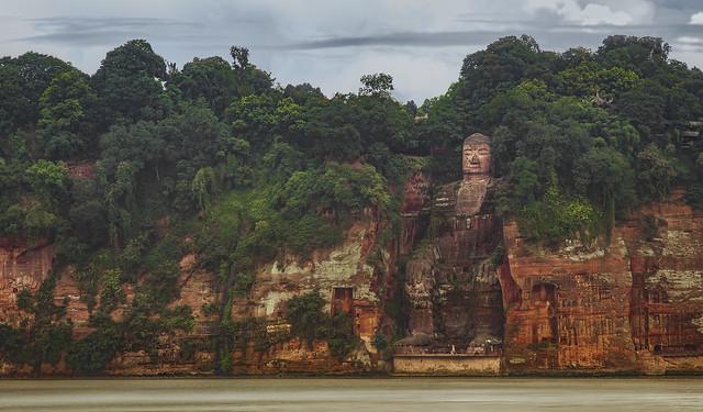 嘉州凌雲寺大彌勒石像(樂山大佛)|The Leshan Giant Buddha