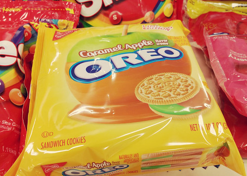 Caramel Apple Oreos