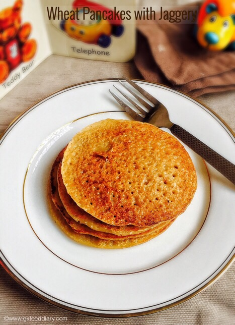 Wheat Pancakes for Babies