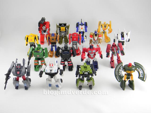 Transformers Hound EZ Collection - modo robot vs otros Legends