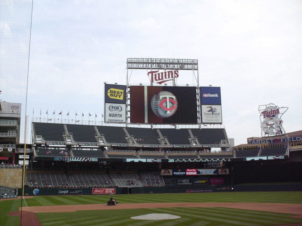 Target Field - In The Ballparks