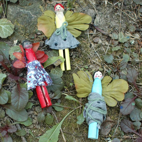 Clothespin Fairies | Freshly Planted