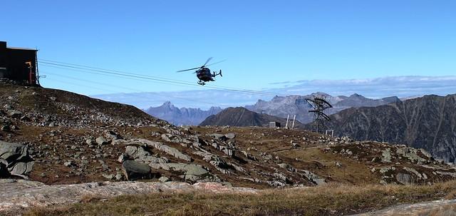 Traversée Montenvers-Plan de l'Aiguille helicopter tour