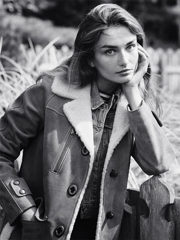 Andreea Diaconu by Dan Martensen for the Teegraph Magazine September 2015