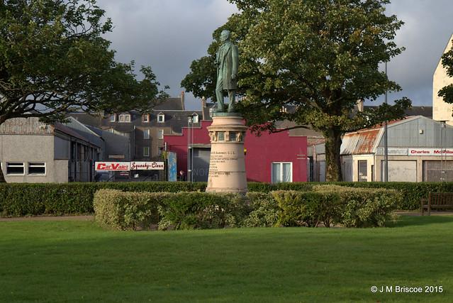 Statue Of William Mackinnon, Kinloch Street, Campbeltown