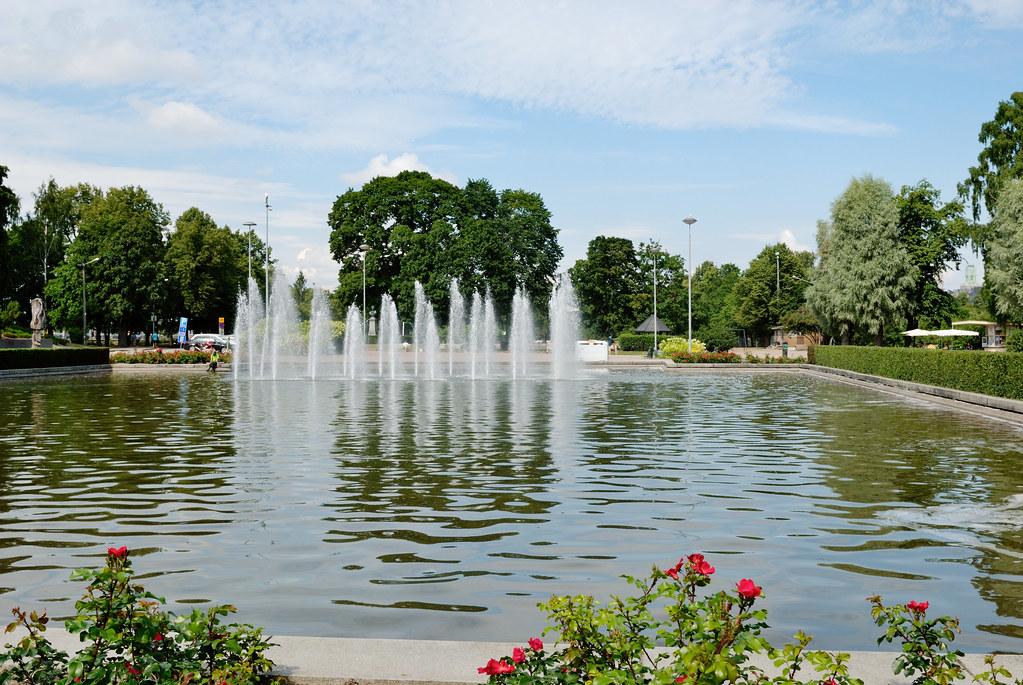 Helsinki Park Kaisaniemi