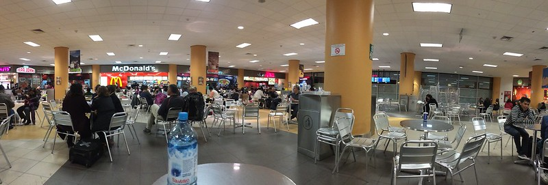 Lima airport food court