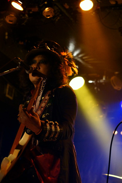 Coal Tar Moon live at Outbreak, Tokyo, 14 Oct 2015. 206
