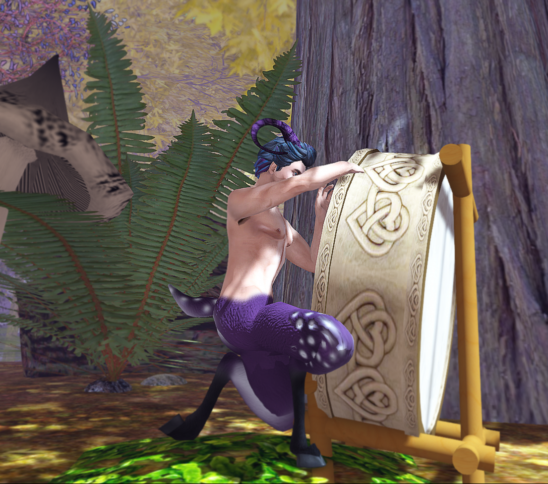 Avatar Bizarre Fallow Faun Drumming
