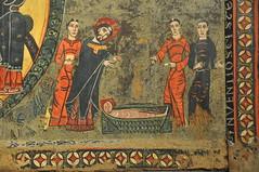 Llanars. St. Stephen's Parish church. Romanesque painted antependium. 12th C.