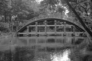 Sumiyoshi-Taisya Shrine, Osaka on OCT 31, 2015 (2)