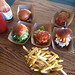 Broncos Slider Bar - sliders and fries