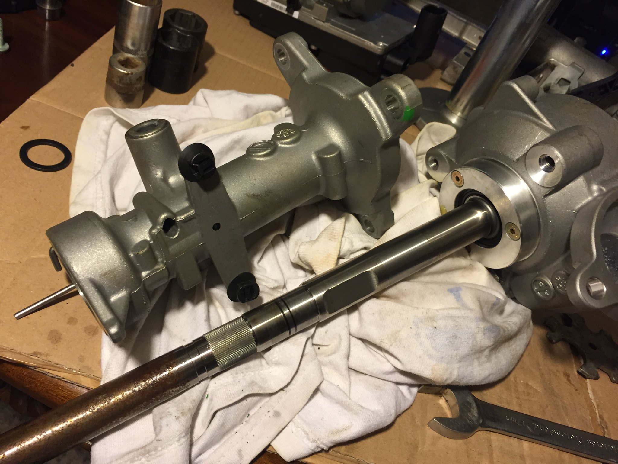 Steering Column Fix - Torque Sensor (save £2000) - Z4-forum com