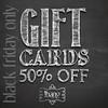 !bang poses - Black Friday gift card sale