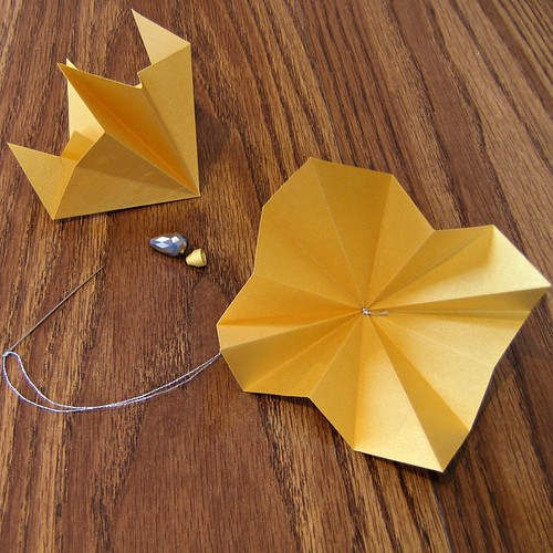 Diamond Origami Ornament Construction